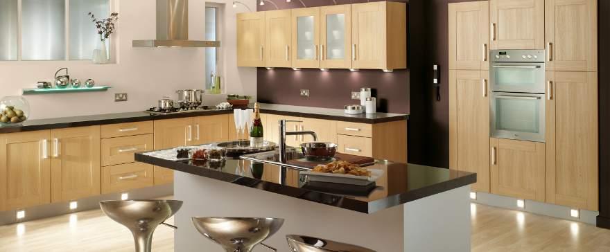 S h kitchens in accrington design a kitchen small for Small fitted kitchens